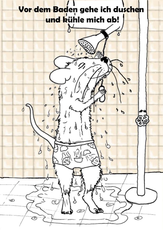 Baderegel duschen